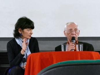 Elisabetta Sgarbi, Adriano Aprà