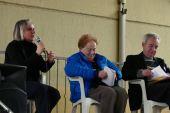 Emanuela Piovano, Angioletta Mazza, Don Piero Agrano