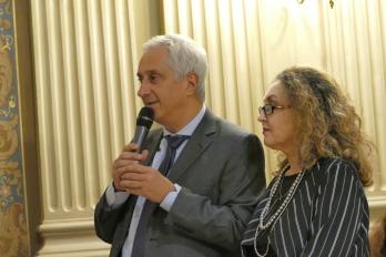 Stéphane Layani, Marina Miroglio